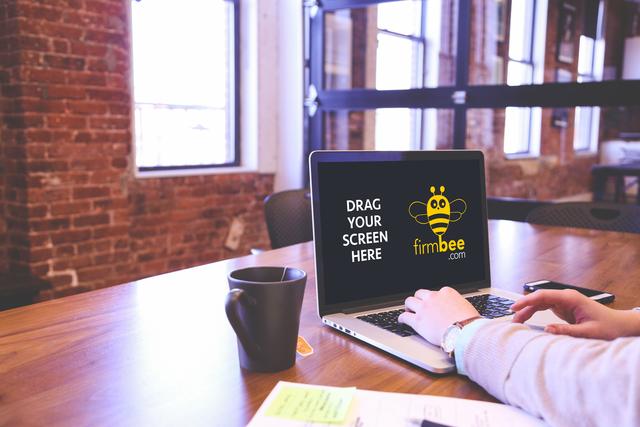 Open cowork space and MacBook Pro