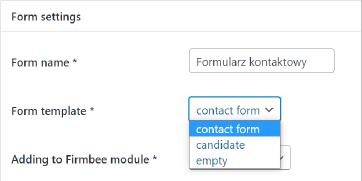 Tak - Firmbee Lead Forms