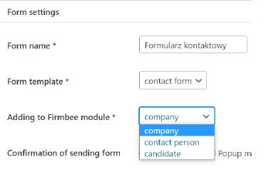 Tak2 - Firmbee Lead Forms