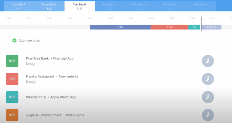 best time tracking apps 2020