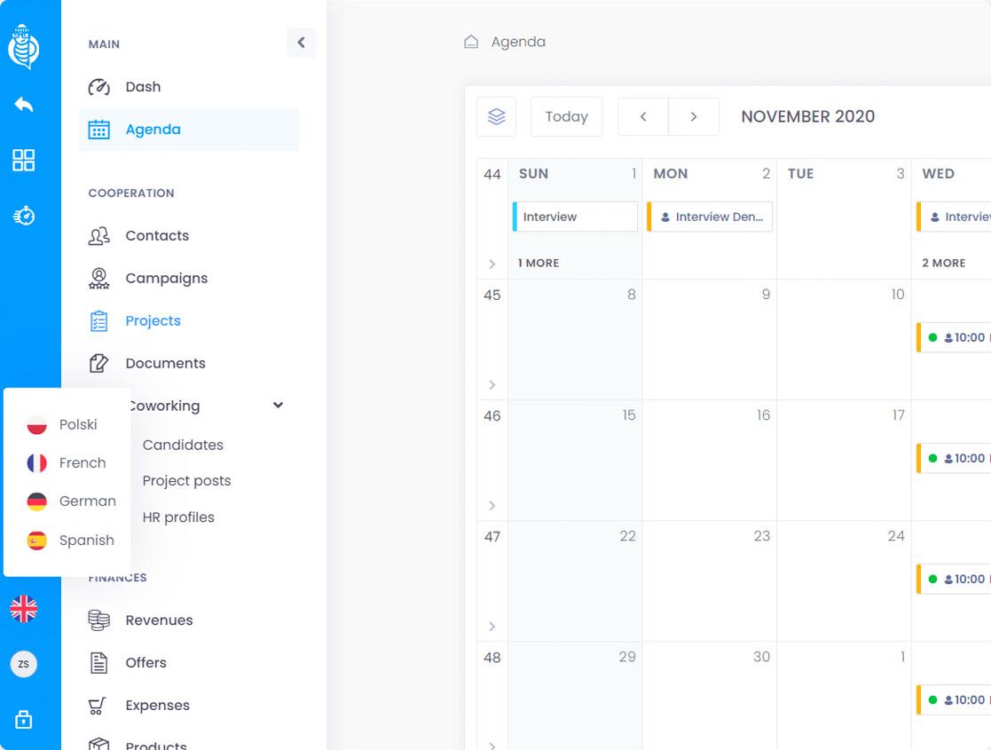 calendar screen04 - Calendar & Agenda