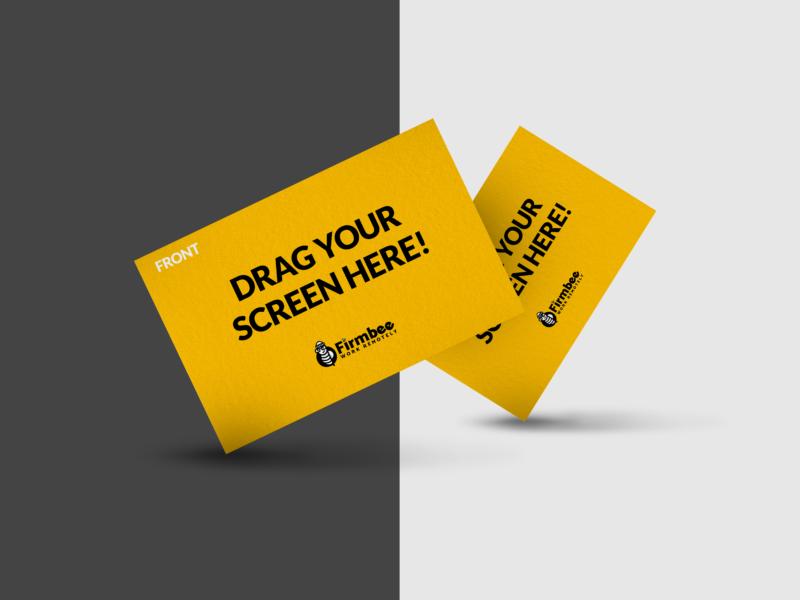 Mockup business cards
