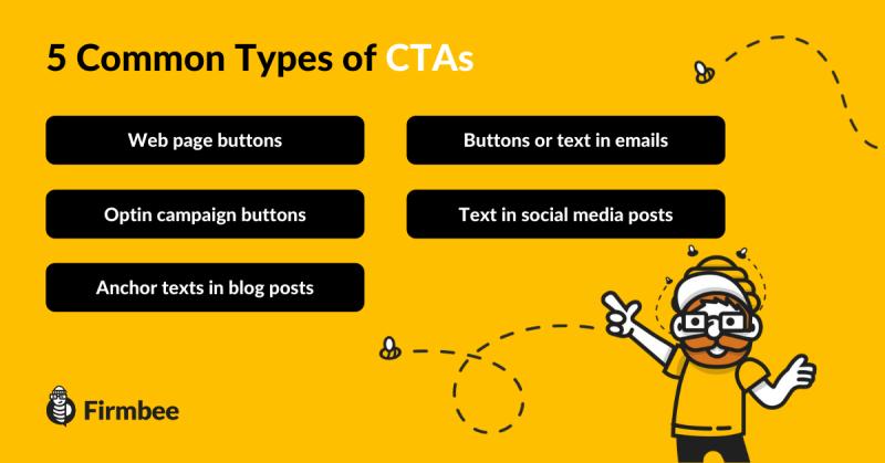 common_types_of_CTA