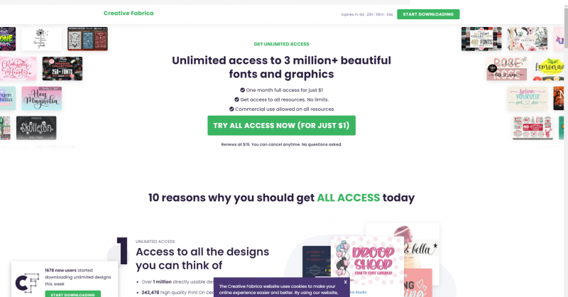 selling graphic design on creativemarket