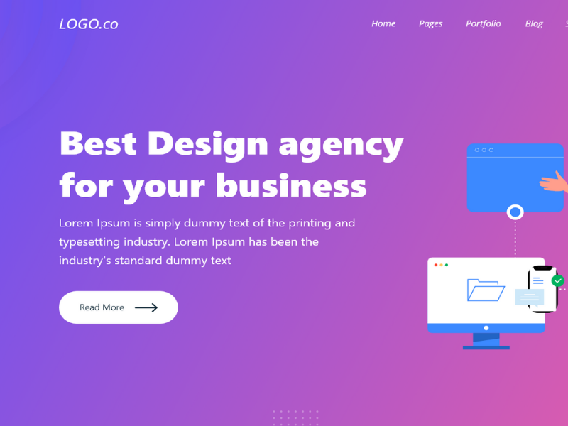 detail2 - Free XD Landing Page template for SaaS [FREE DOWNLOAD]