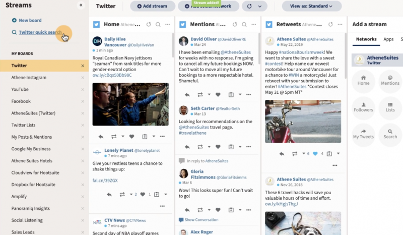 hootsuite 800x466 - Social Listening: Why You Should Implement it & Tools to Make it Easier