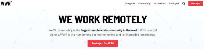 work remotely websites